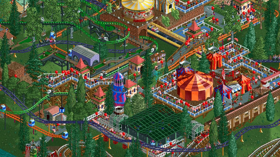 Roller Coaster Tycoon Free Download 2