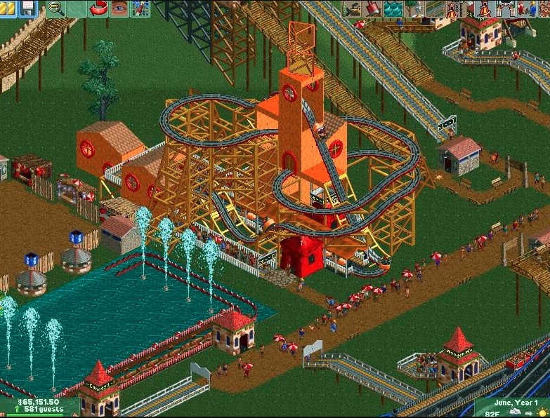 Rollercoaster Tycoon 2 Free Download 1
